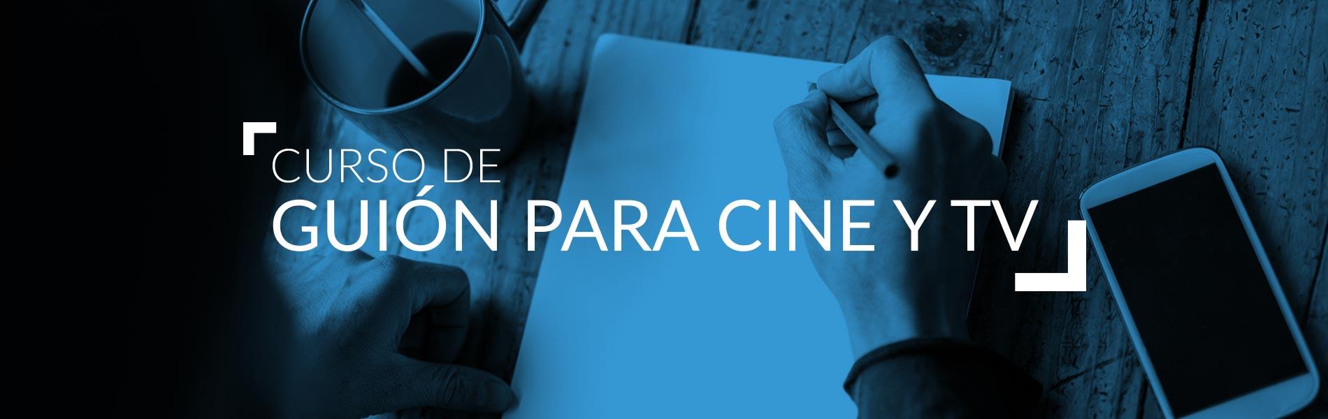 Curso Guion Cine y Tv